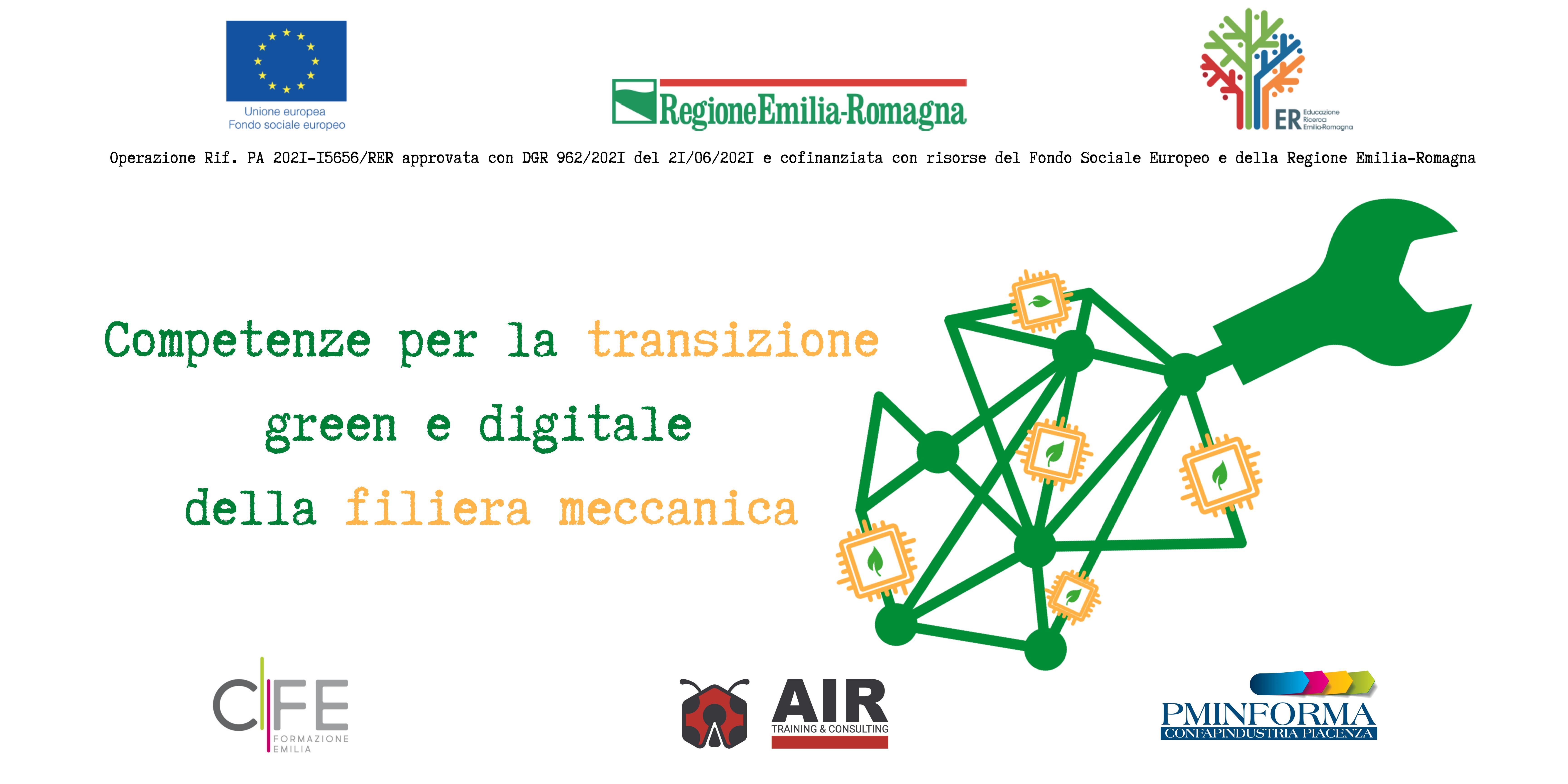 COMPETENZE PER LA TRANSIZIONE GREEN E DIGITALE DELLA FILIERA MECCANICA